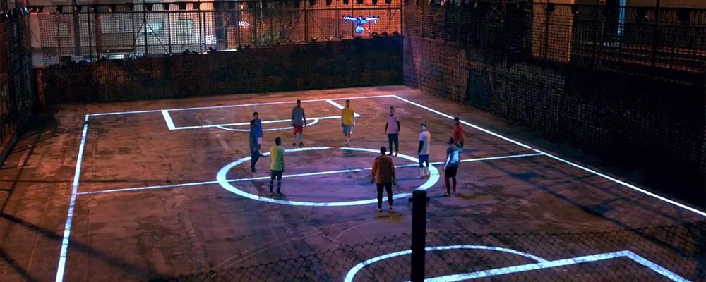 Drone Football Pepsi Max