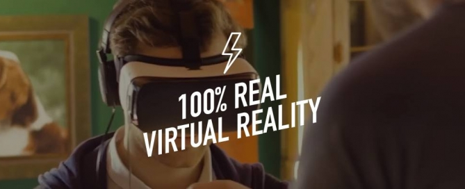 100% Real Virtual Reality