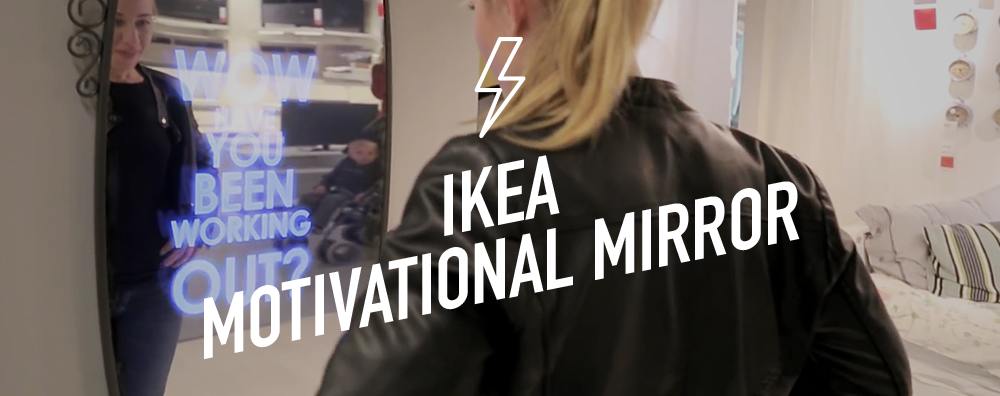 IkeaMotivationalMirror