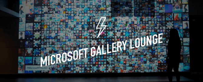 MICROSOFT GALLERY LOUNGE post 1