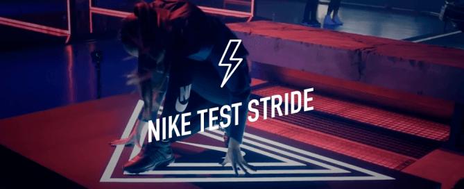 Nike test stride 1