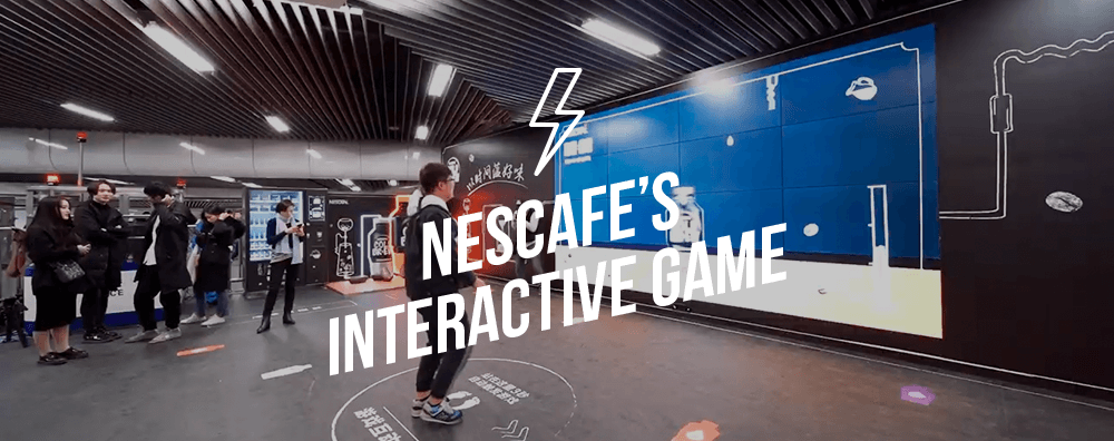 Nescafe's Interactive Game