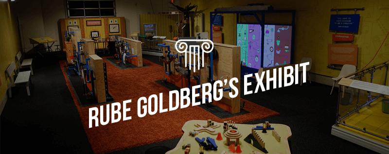 Rube Goldberg's exhibit