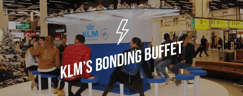 KLM's Bonding Buffet